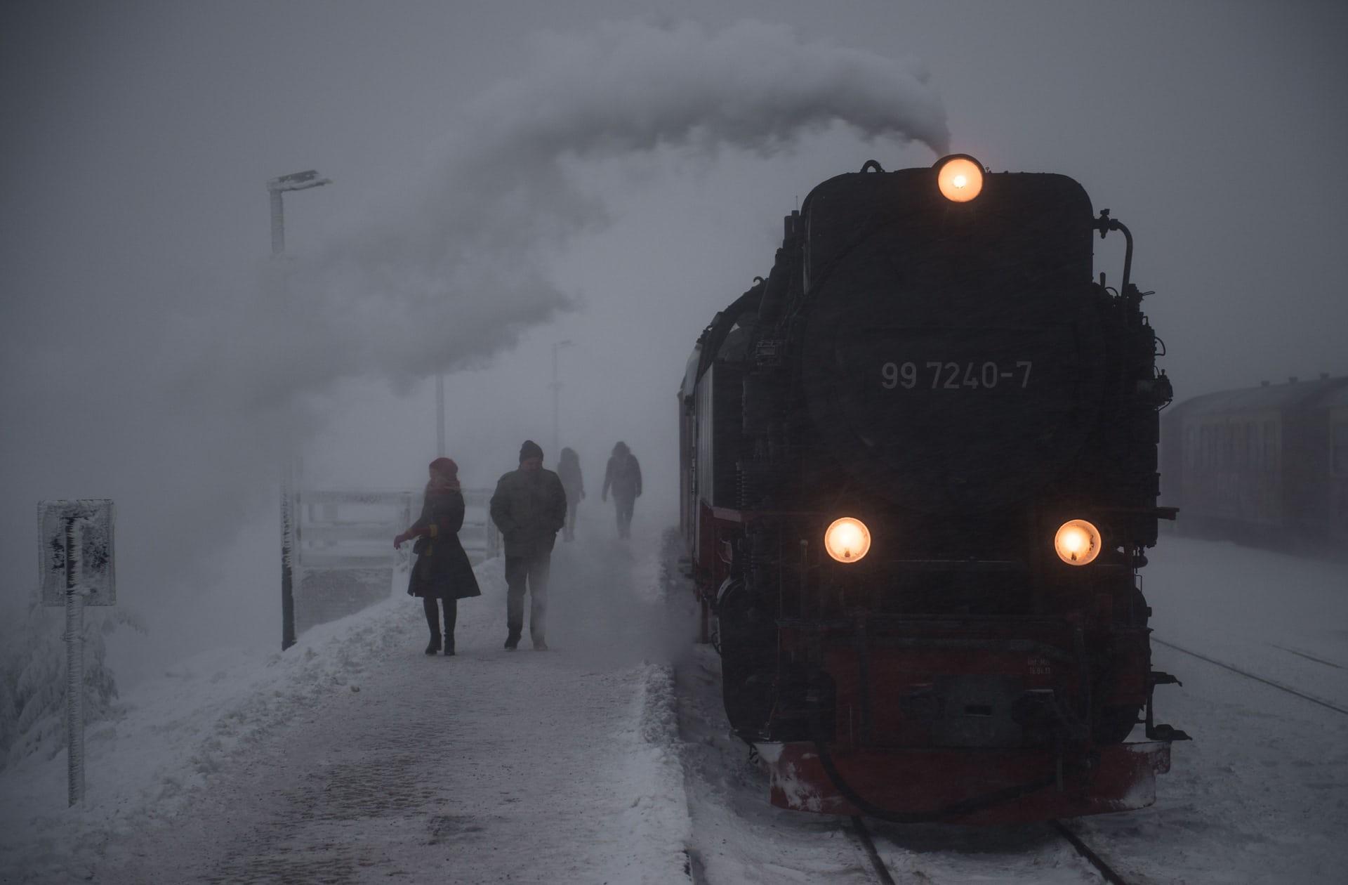قطار بخار