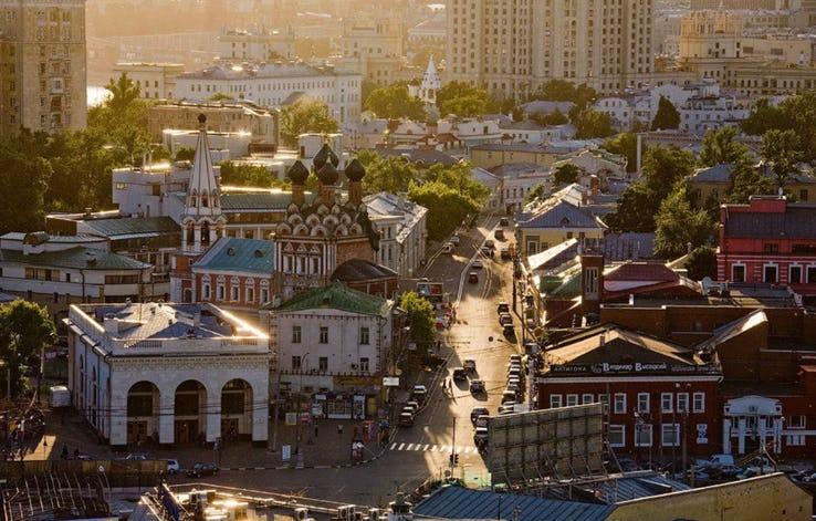 Taganskaya Square - Moscow_ Russia