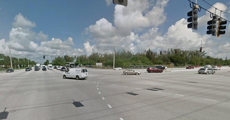 Flamingo Road and Pines Boulevard - Pembroke Pines_ USA