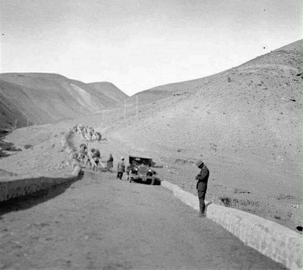 احداث جاده تهران - جاجرود به دستور رضا پهلوی - سال ۱۳۰۶ خورشیدی