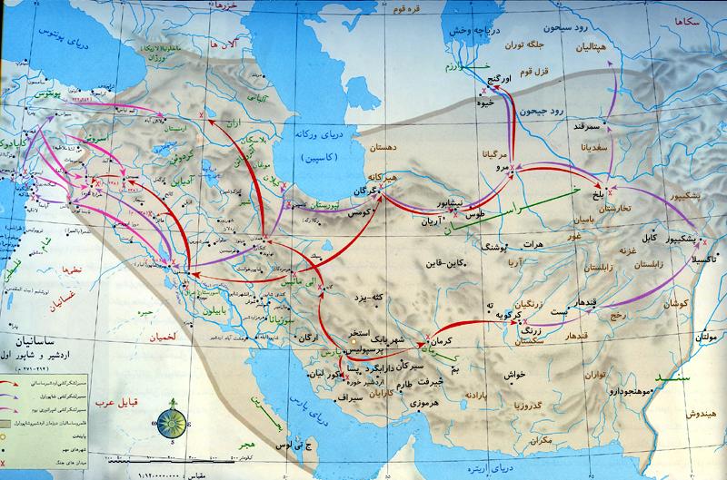 map-sasani