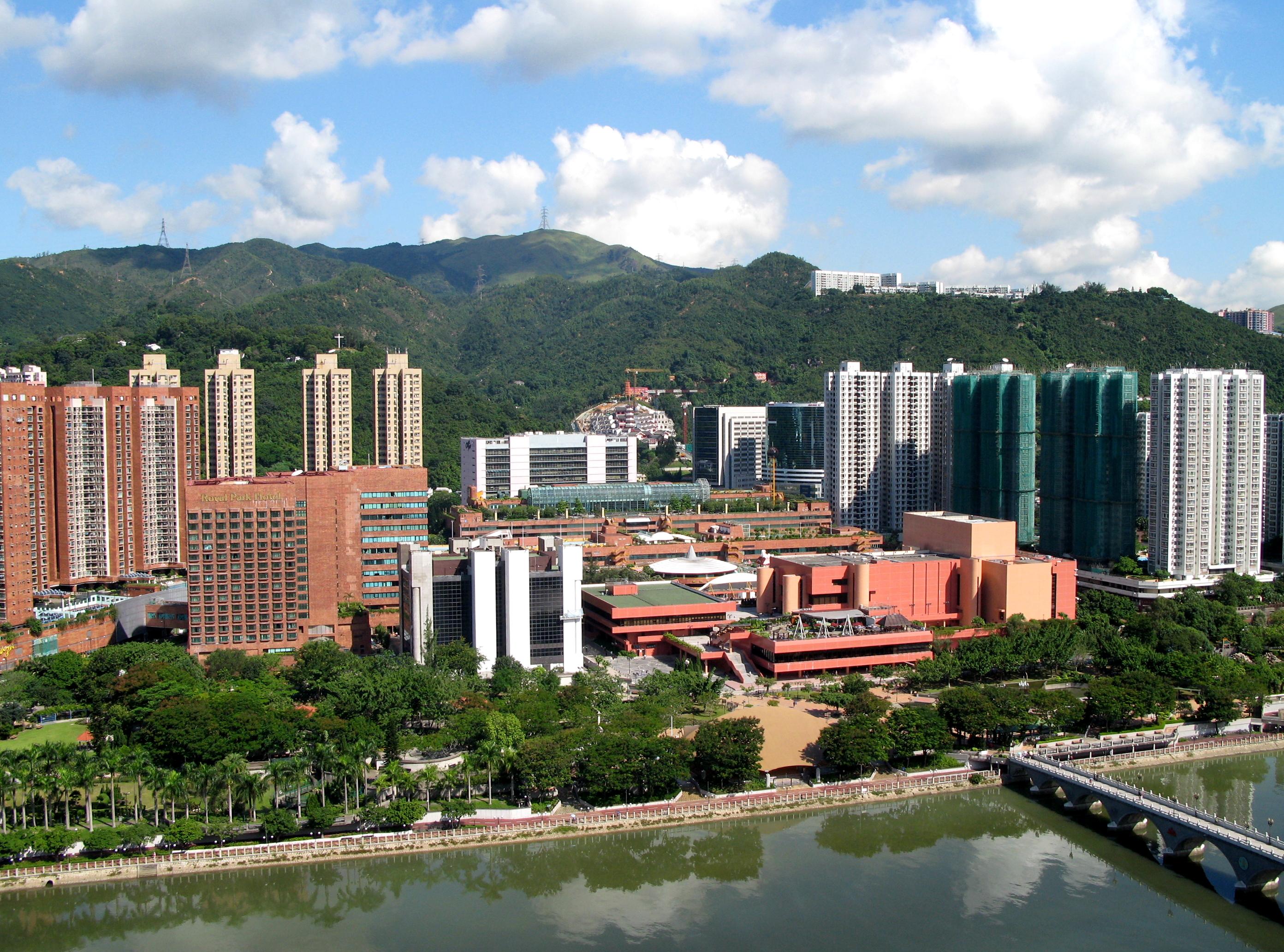 مرکز تجاری شا-تین هنگ کنگ