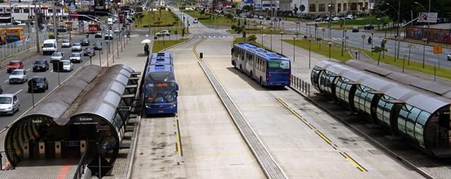 ایستگاه تاد در کوریتیبای برزیل
