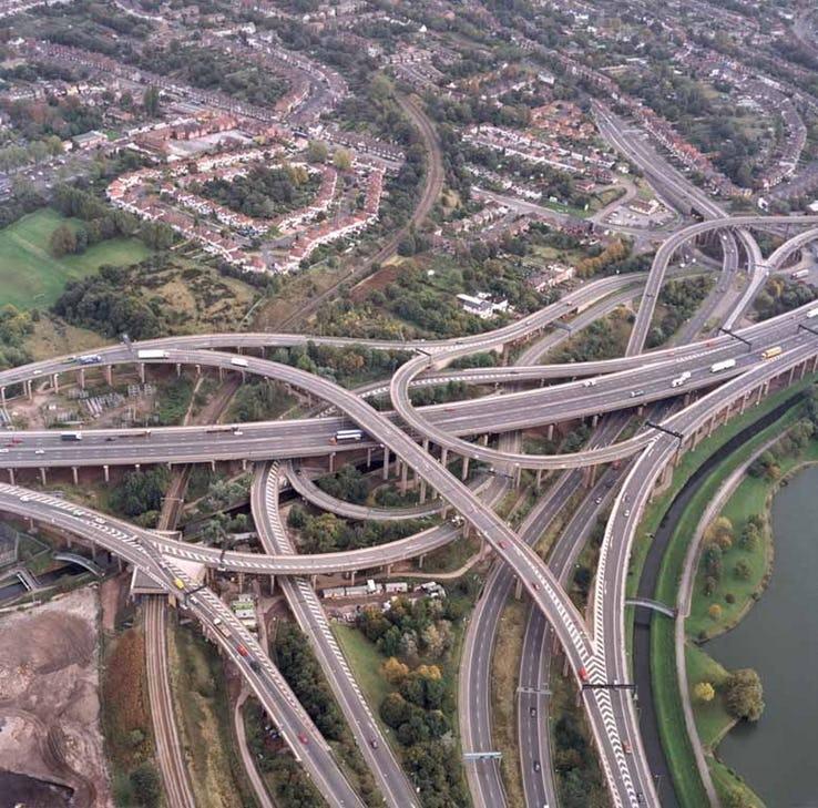Spaghetti Junction - Birmingham_ UK