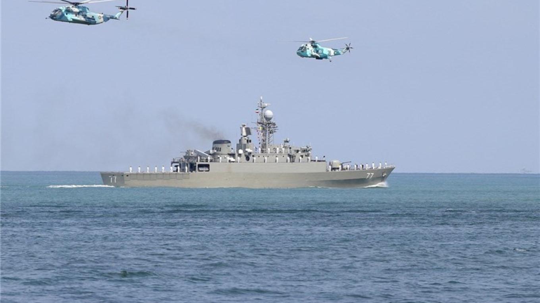 آزمایش تجهیزات و سلاحهای جدید در رزمایش نیروی دریایی ارتش