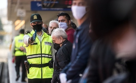 اجباری شدن ماسک در مترو