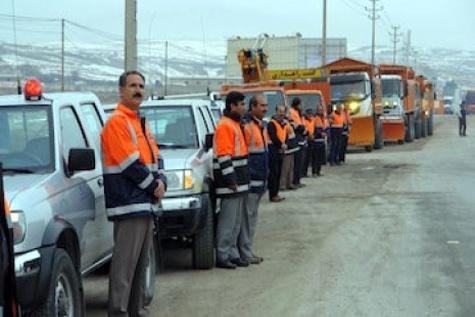 آمادگی راهداران خراسان شمالی برای خدماترسانی به مسافران زمستانه