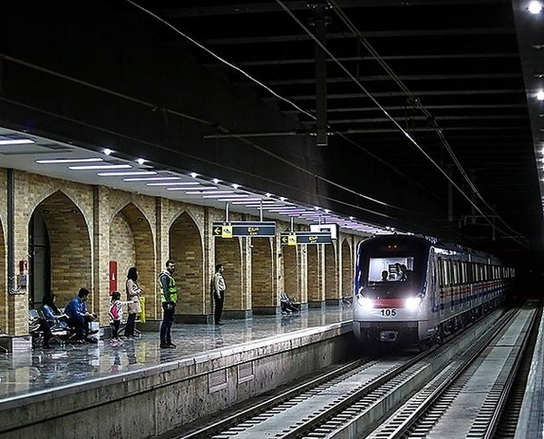 75 هزار سفر روزانه در خط 1 مترو اصفهان