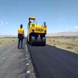 اتمام عملیات روکش آسفالت گرم محور قاین-علی آباد بطول 8 کیلومتر