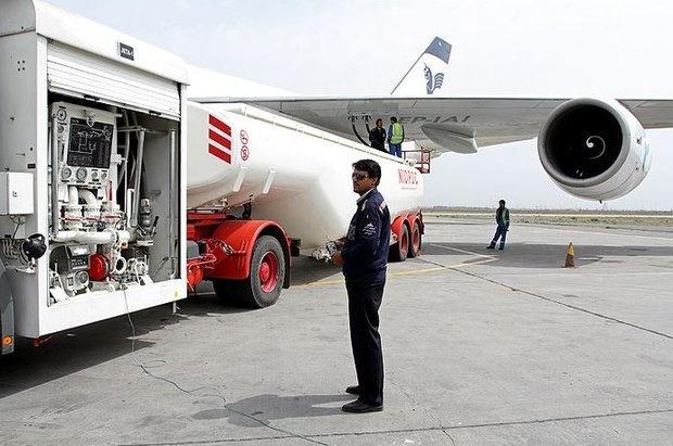 تحویل بیش از 7 میلیون لیتر سوخت به هواپیماها