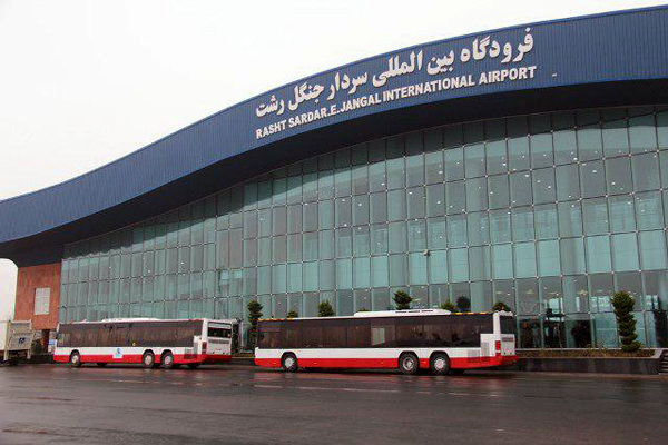 پایان عملیات حج تمتع 97 در فرودگاه رشت
