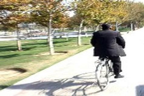 دوچرخهای مانند ساندویچ / عکس