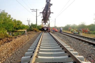 مدیرکل راه آهن: ۸۲ کیلومتر از خط ریلی بافق - زرند - کرمان بازسازی شد