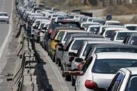 ترافیک سنگین در آزادراه رشت-قزوین