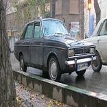 تردد ۱۰ هزار تاکسی پیکان