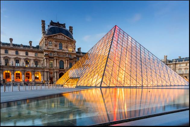 موزه ی لوور پاریس در تور لحظه آخری