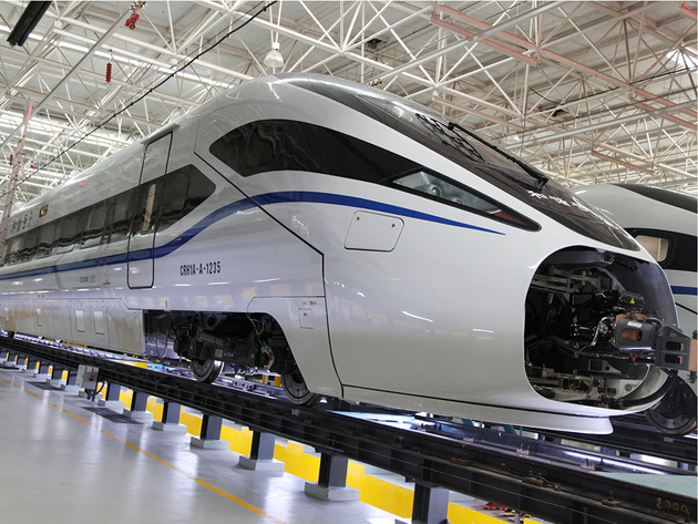 CRC orders more CRH1A-A high speed trainsets