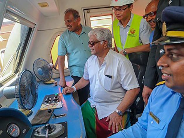 Sri Lanka opens first phase of China-financed Southern Railway line