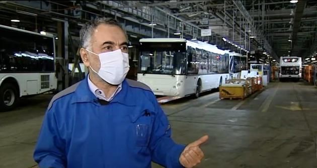 آغاز تحویل اتوبوسهای ساخت داخل به شهرداریها