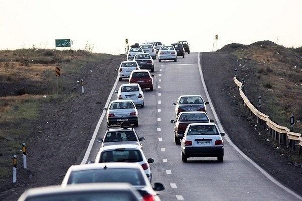 جاده تبریز-جلفا از پرترددترین جادههای آذربایجان شرقی در نوروز