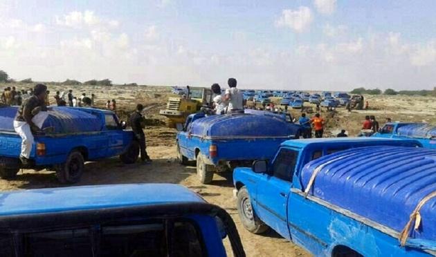 توقیف ۱۱ خودرو حامل سوخت قاچاق در سیستان