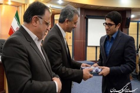 قدردانی استاندار گلستان از مدیر کل حمل و نقل و پایانه های استان گلستان