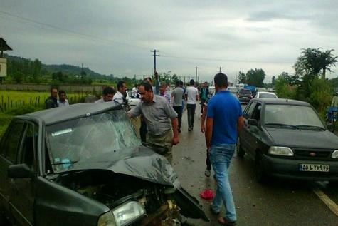 سوانح رانندگی پنج ماه گذشته مازندران ۳۴۳ نفر کشته داشت