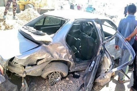 واژگونی خودرو حامل ۱۲ تبعه افغانی غیر مجاز در سپیدان
