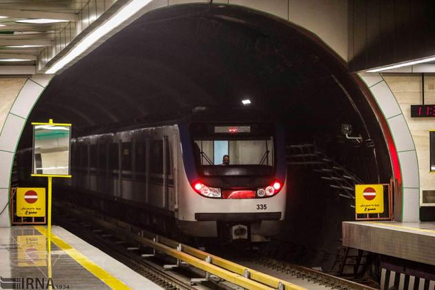 ۶۰ درصد از قطعات مترو تهران بومی سازی شده است