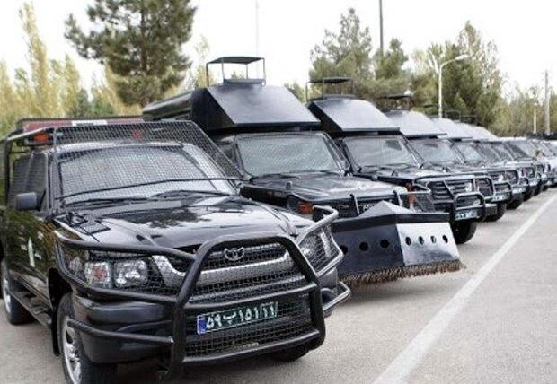 کاهش تصادفات برون شهری گلستان/ناوگان جدید خودرویی رونمایی شد