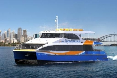 Sydney fast ferries rely on Simrad technology