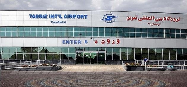 نخستین پرواز ترانزیت باری در فرودگاه تبریز به زمین نشست