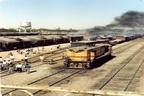 تخریب ایستگاه راهآهن اندیمشک در طولانیترین بمباران هوایی