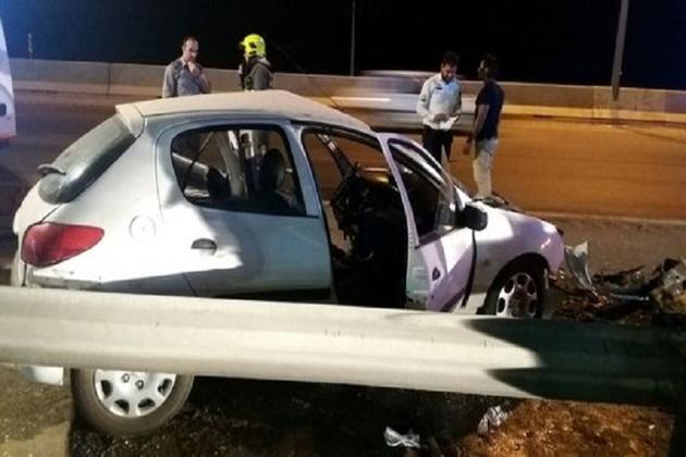 تصادف در بزرگراه شهید دستجردی اصفهان