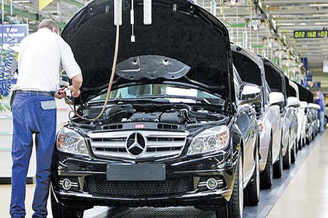 شرط ماندگاری خودروها در خطوط تولید