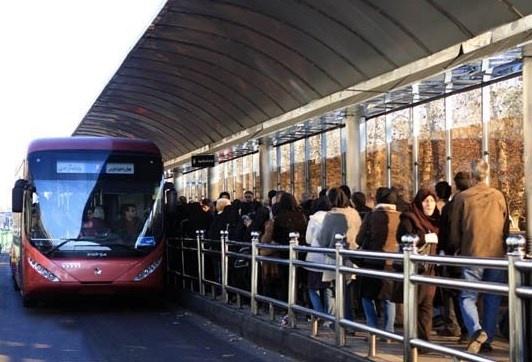 بهسازی خطوط اتوبوسهای تندرو شهر با استفاده از آسفالت پلیمری