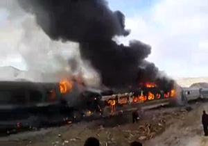 مقصران حادثه قطار تبریز - مشهد چه کسانی هستند؟