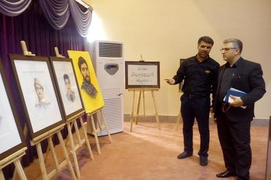بازدید مدیر کل راهآهن اراک از بنیاد حفظ آثار و نشر ارزشهای دفاع مقدس
