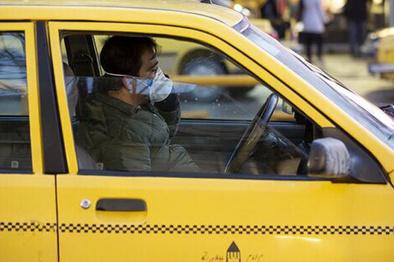 بالارفتن فیتیله کرایه تاکسی پایتخت با تب کرونا
