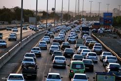 تردد در جادهها به طور بیسابقهای افزایش یافت