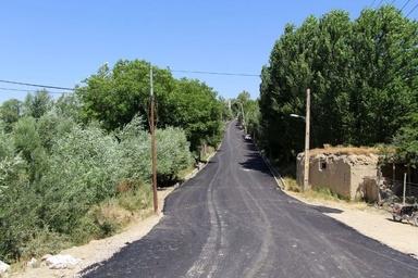 نزدیک به نیم میلیون مترمربع مسیر روستایی در ارومیه آسفالت شد
