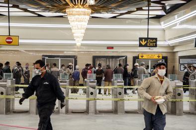 ارائه کد ملی برای شارژ بلیتهای مترو تهران الزامی است