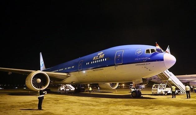 توقف پرواز تهران-آمستردام/ KLM: صرفه اقتصادی ندارد