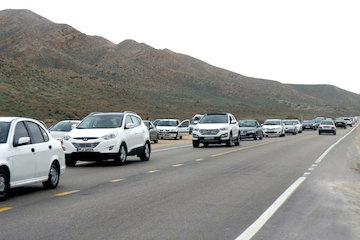 ورود بیش از ۷۵۰ هزار وسیله نقلیه به خراسان شمالی در ایام نوروز