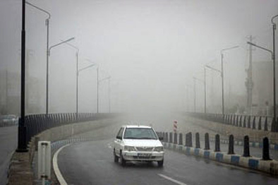 مه گرفتگی در ۳ جاده مازندران