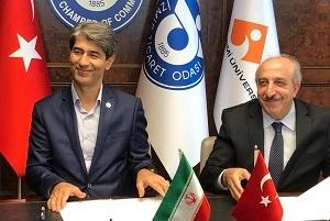 امضای یادداشت تفاهم توسعه همکاریهای حمل و نقل بین المللی جادهای فیمابین ایران و ترکیه