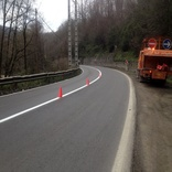عملیات اجرای 680 کیلومتر خط کشی ترافیکی در سطح راه های مازندران
