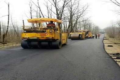 پروژه احداث جاده جدید سنندج-مریوان ۹۵ درصد پیشرفت دارد