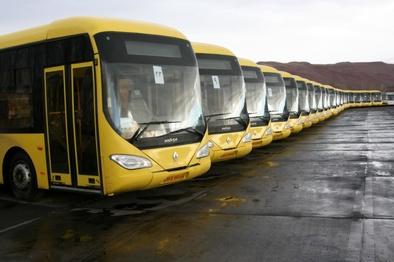 تجهیز ۶۰۰۰ اتوبوس پایتخت به زنجیر چرخ و ضد یخ/ گزارشی از توقف اتوبوسها نداشتیم