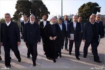 گزارش تصویری/ روحانی لایحه بودجه سال 97 را به مجلس آورد